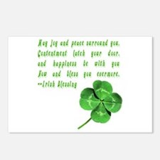 Cute Scottish st patrick Postcards (Package of 8)