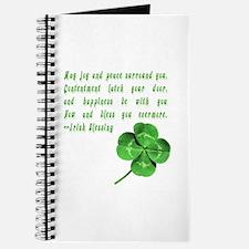 Cute Irish blessing Journal
