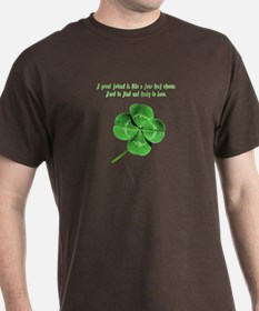 4 Leaf Clover Luck T-Shirt