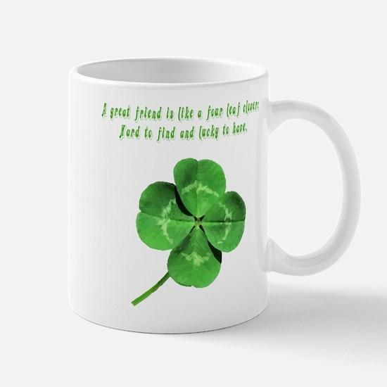 4 Leaf Clover Luck Mug