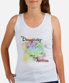 More than Autism (Daughter) Women's Tank Top