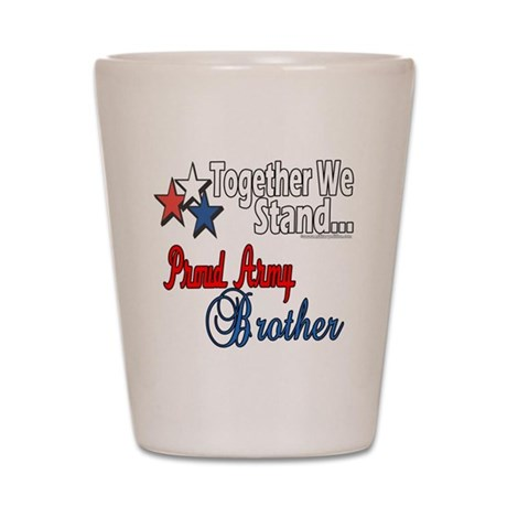Army Brother Shot Glass