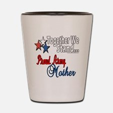 Proud Army Mommy Shot Glass