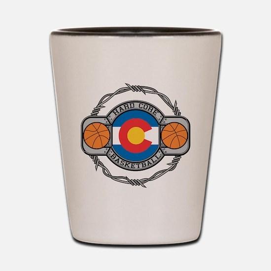 Colorado Basketball Shot Glass