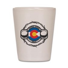 Colorado Golf Shot Glass