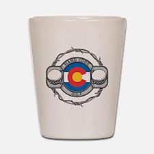 Colorado Golf Shot Glass