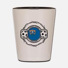 Nevada Soccer Shot Glass