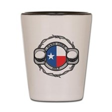 Texas Golf Shot Glass