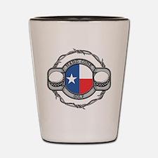 Texas Golf Shot Glass