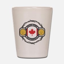 Canada Water Polo Shot Glass