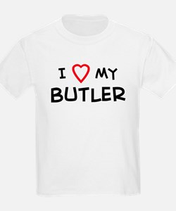 I Love Butler Kids T-Shirt