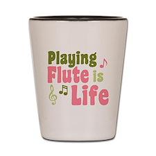 Flute is Life Shot Glass
