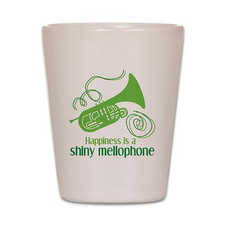 Shiny Mellophone Shot Glass