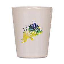 Paint Splat French Horn Shot Glass