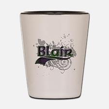 Blair Tartan Grunge Shot Glass