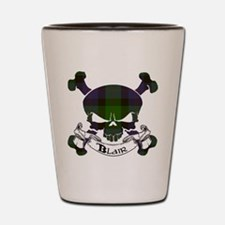Blair Tartan Skull Shot Glass