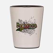 Buchanan Tartan Grunge Shot Glass