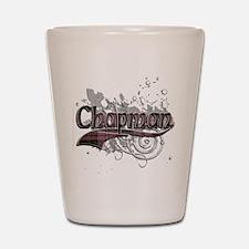 Chapman Tartan Grunge Shot Glass