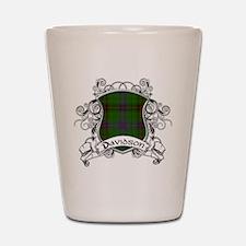Davidson Tartan Shield Shot Glass