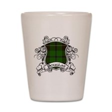 Douglas Tartan Shield Shot Glass