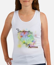 More than Autism (Students) Women's Tank Top