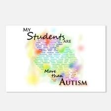 More than Autism (Students) Postcards (Pack of 8)