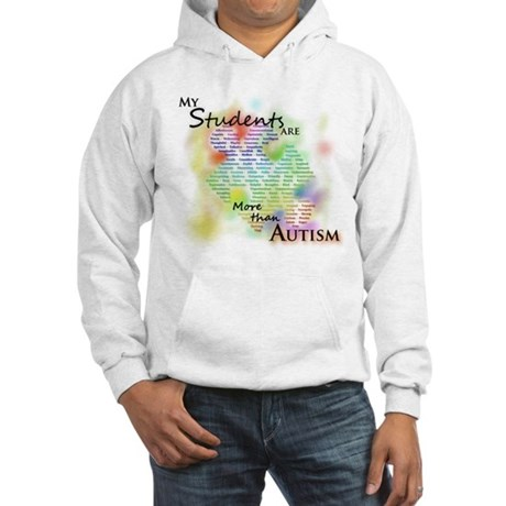 More than Autism (Students) Hooded Sweatshirt