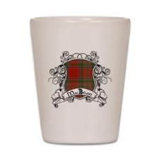 MacBean Tartan Shield Shot Glass