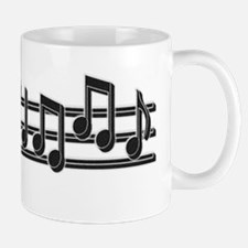 Musical Notes Small Small Mug