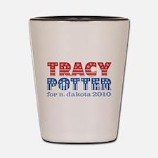 Tracy Potter 2010 Shot Glass