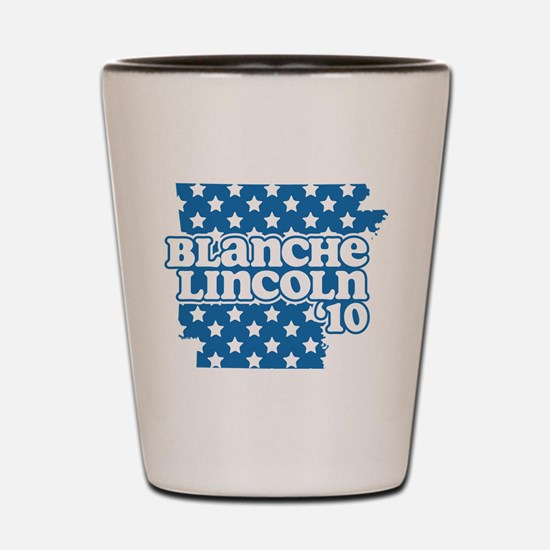 Blanche Lincoln '10 Shot Glass