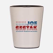 Sestak for Senate Shot Glass