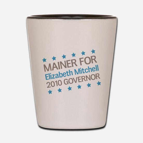 Mainer for Mitchell Shot Glass