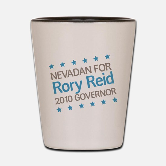 Nevadan for Reid Shot Glass