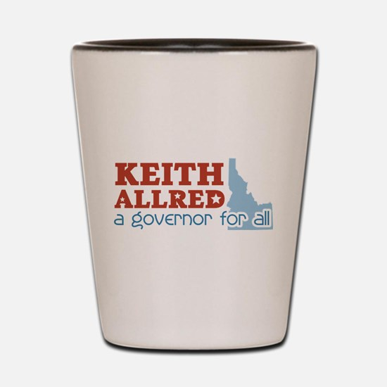 Governor for All Shot Glass
