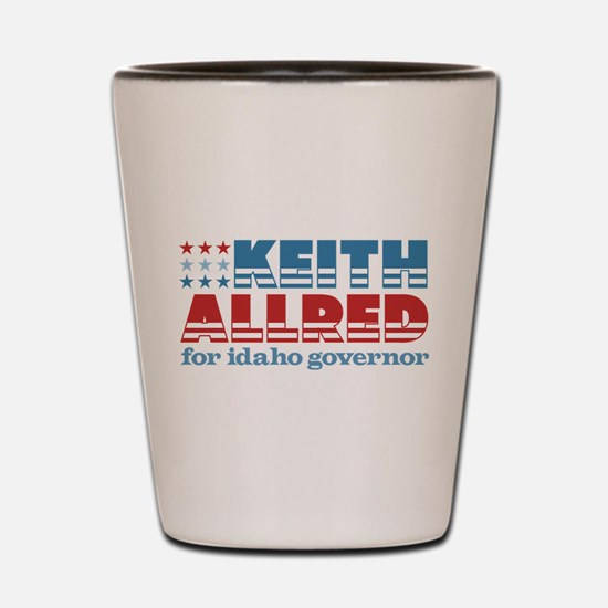 Allred For Idaho Shot Glass