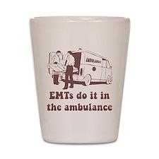 EMT Ambulance Shot Glass
