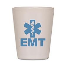 Blue EMT Shot Glass