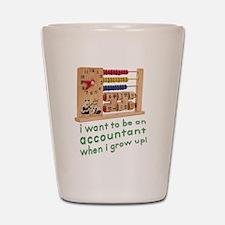 Future Accountant Shot Glass
