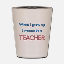 Future Teacher Shot Glass