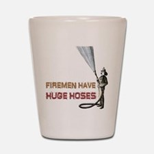 Funny Firefighter Shot Glass