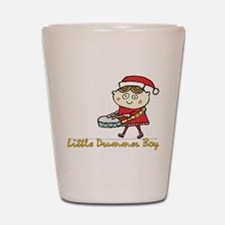 Little Drummer Boy Shot Glass