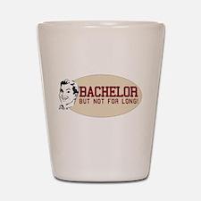 Hip Retro Vintage Bachelor Shot Glass