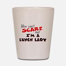 Lunch Lady Shot Glass