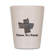 there. it's fixed. duct tape Shot Glass