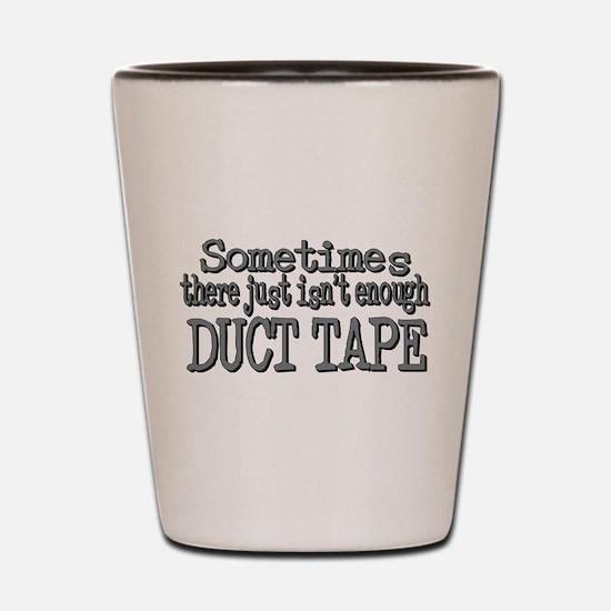 Funny Tape Shot Glass