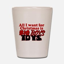 Big Boys Toys Shot Glass