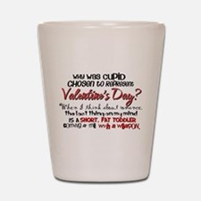 Why Was Cupid Chosen? Shot Glass