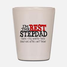 Best Stepfather Shot Glass