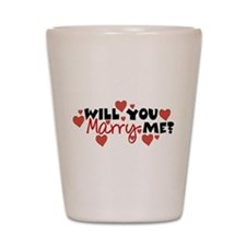 Will You Marry Me? Shot Glass